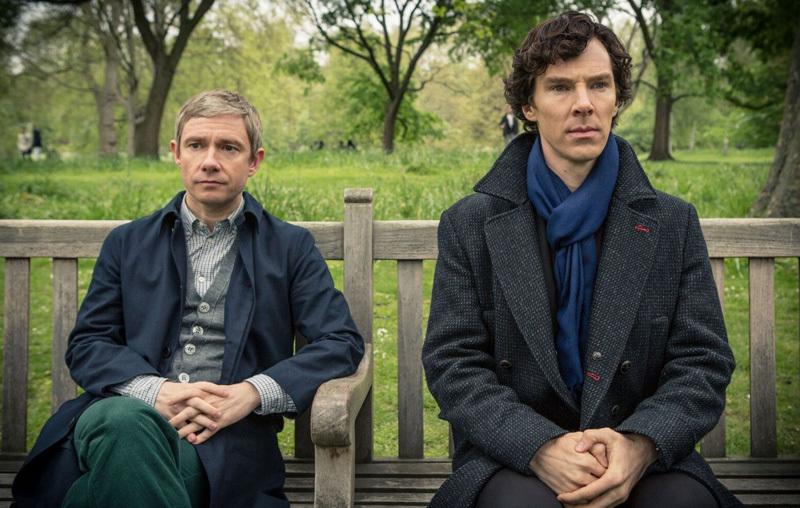 Кадр из сериала'Шерлок