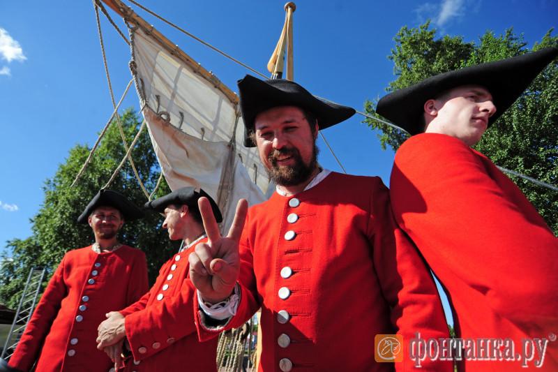 Международный морской фестиваль пройдет устен Петропавловской крепости вПетербурге