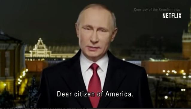 Владимир Путин поздравил жителей США сНовым годом