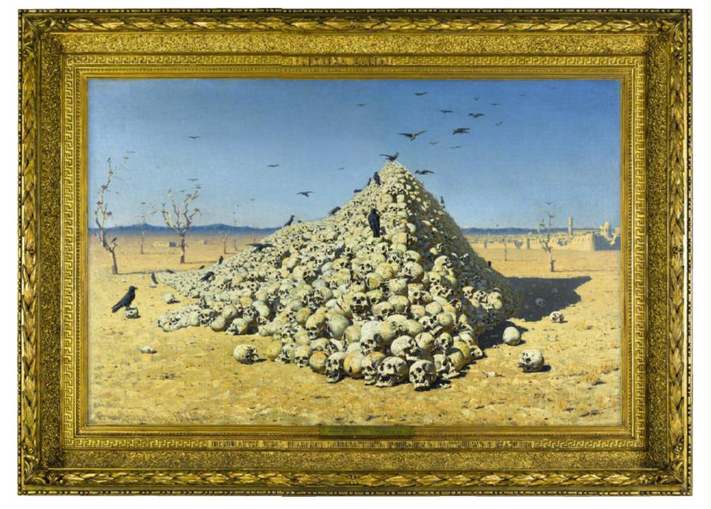Картина верещагина апофеоз войны в русском музее