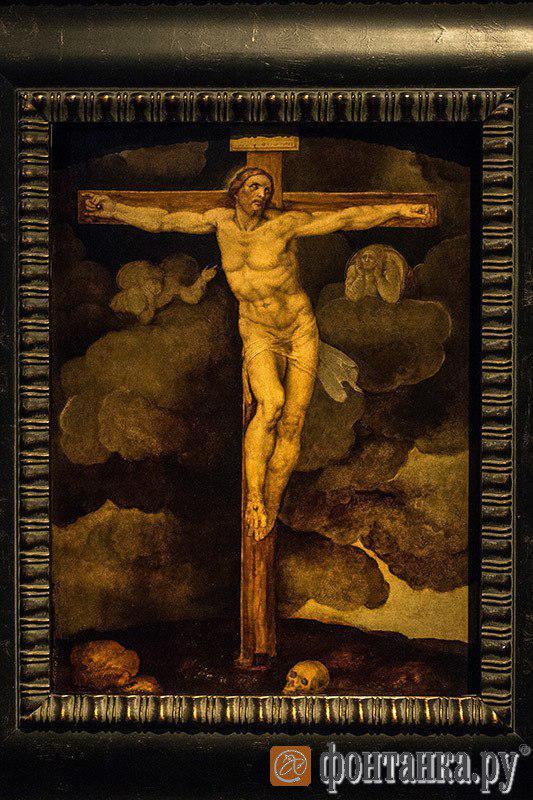 Приписывается Микеланджело. Распятие Христа (из частной коллекции, Италия)
