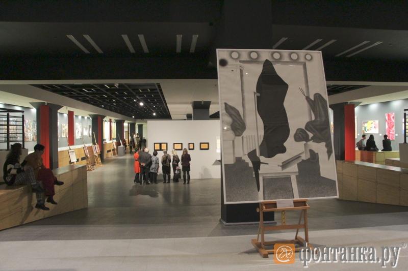 Навыставке вПетербурге представят работы молодых живописцев РФ иЯпонии